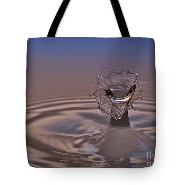 Fluid Flower Tote Bag by Susan Candelario