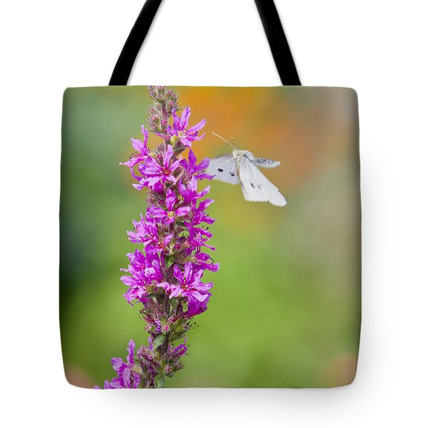 Flying Butterfly Tote Bag by Melanie Viola