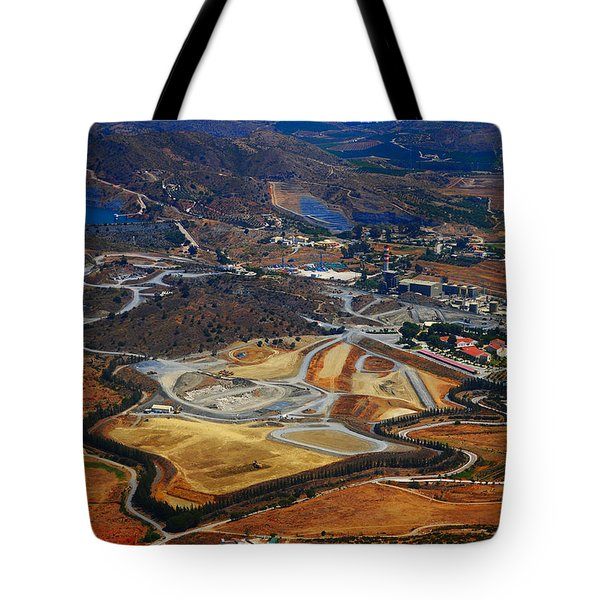 Flying Over Spanish Land II Tote Bag by Jenny Rainbow
