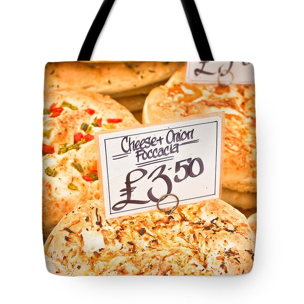 Foccacia Tote Bag by Tom Gowanlock
