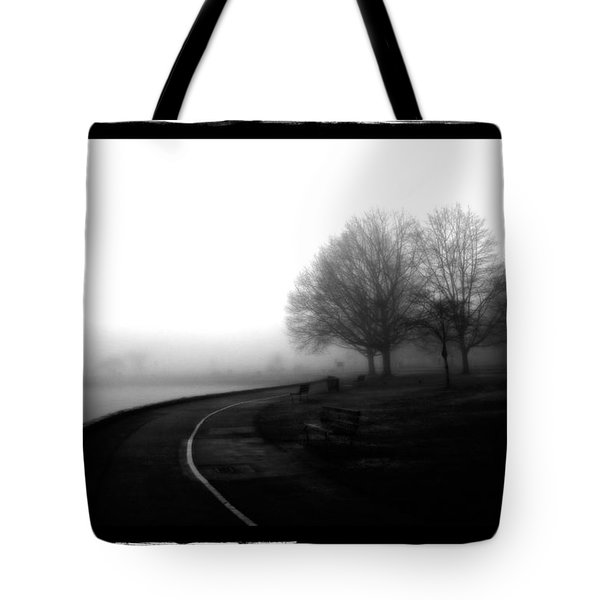 Foggy Day H-3 Tote Bag by Mauro Celotti