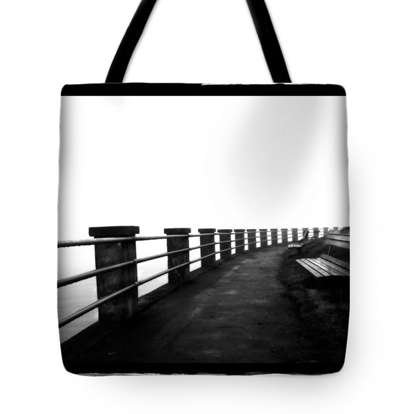 Foggy Day H-6 Tote Bag by Mauro Celotti