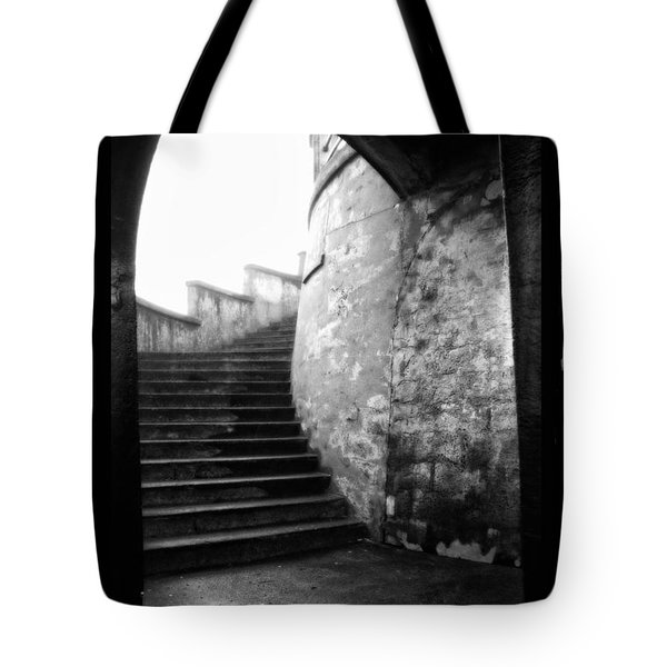 Foggy Day V-1 Tote Bag by Mauro Celotti