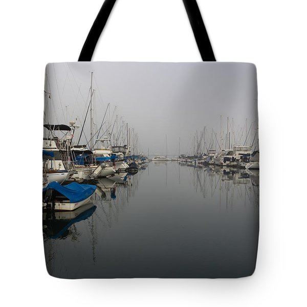 Foggy Morn Tote Bag by Heidi Smith