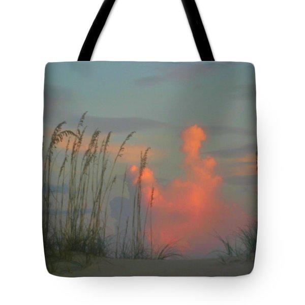 Foggy Oats Tote Bag by Kristin Elmquist