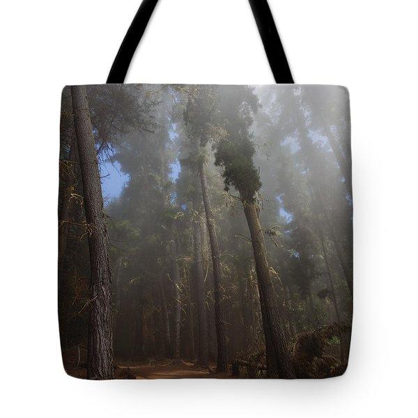 Foggy Poli Poli Tote Bag by Jenna Szerlag