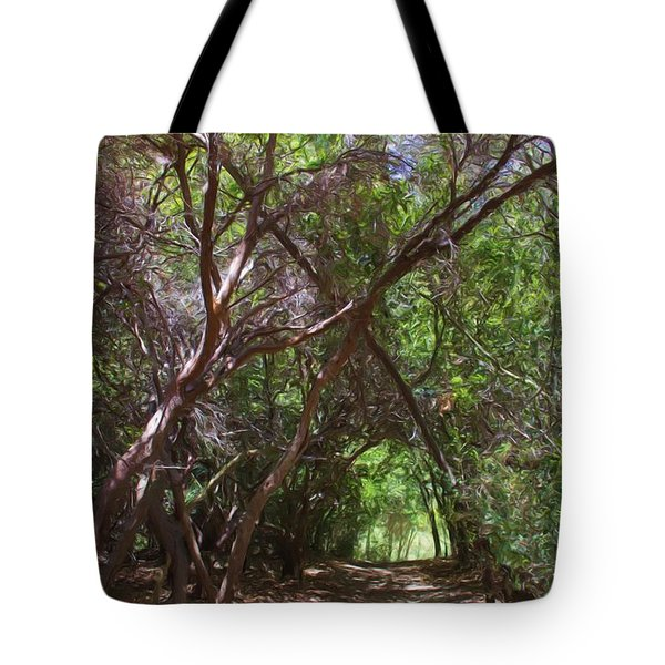 Follow Me Tote Bag by Heidi Smith