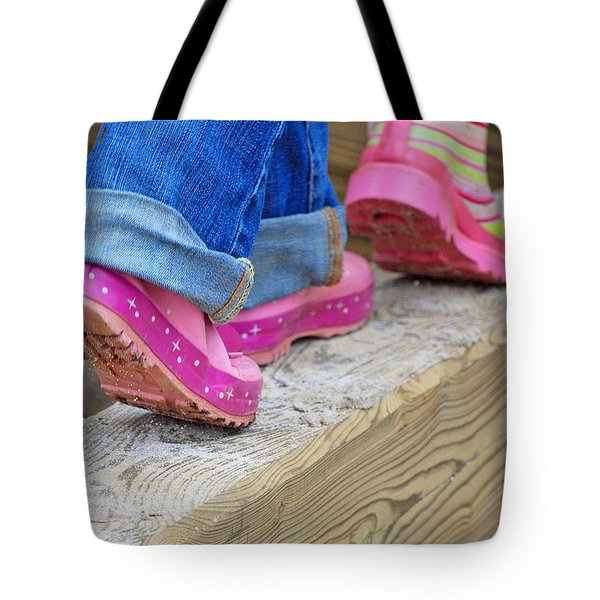 Follow The Leader Tote Bag by Lisa  Phillips