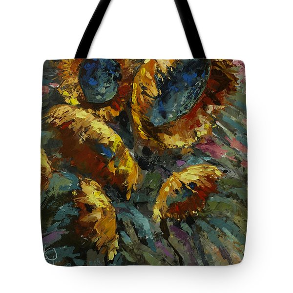 'follow The Sun 2' Tote Bag by Michael Lang