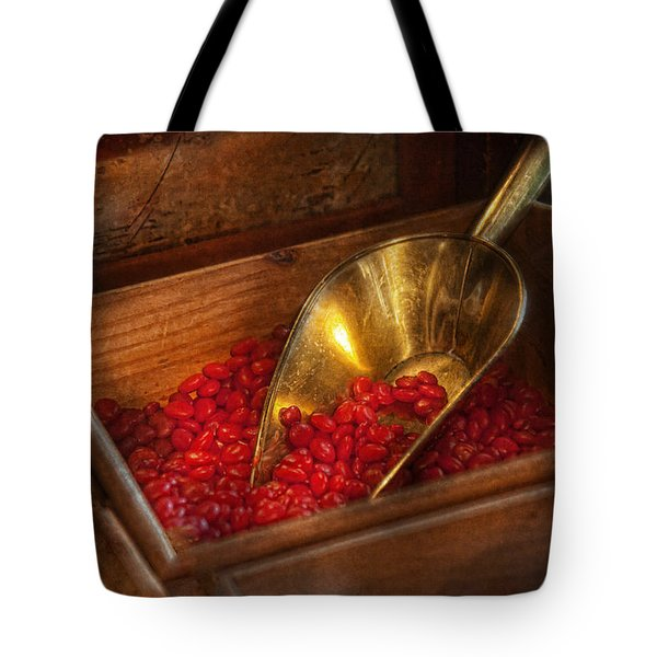 Food - Candy - Hot Cinnamon Candies  Tote Bag by Mike Savad