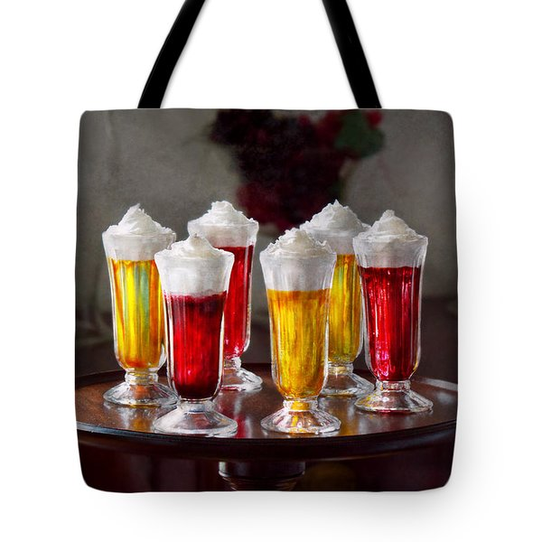 Food - Sweet - Let's Parfait All Night  Tote Bag by Mike Savad