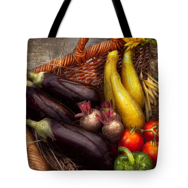 Food - Vegetables - From Mother's Garden Tote Bag by Mike Savad