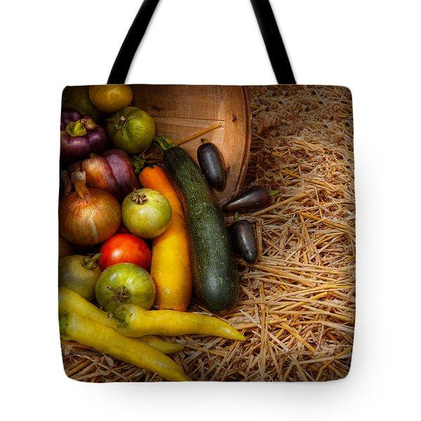 Food - Vegetables - Very Early Harvest Tote Bag by Mike Savad