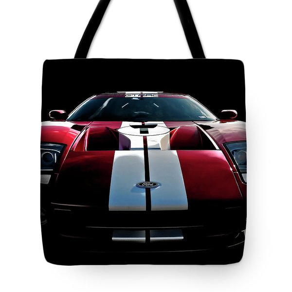 Ford Gt Tote Bag by Douglas Pittman