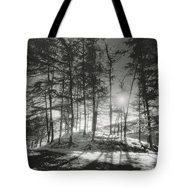 Forelacka Burial Ground Tote Bag by Simon Marsden