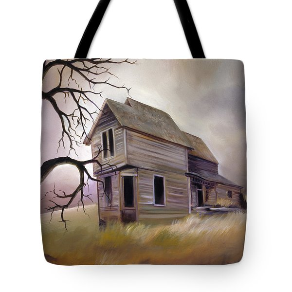 Forgotten But Not Gone Tote Bag by James Christopher Hill