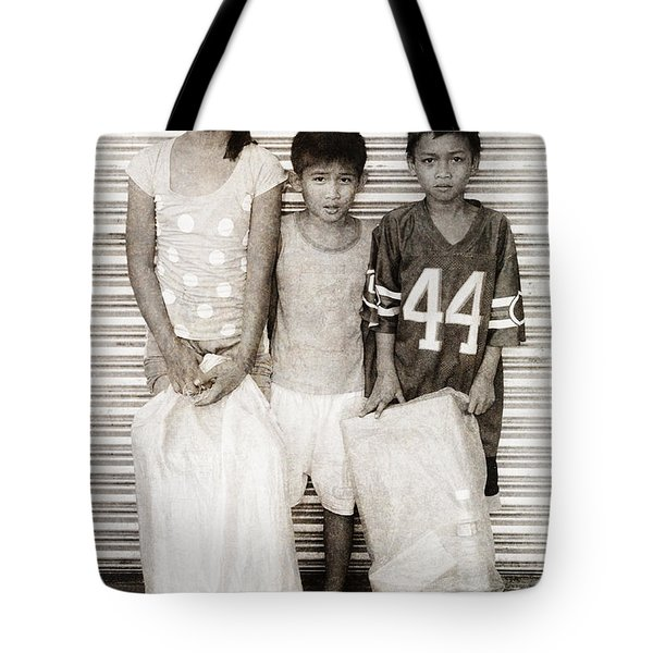 Forgotten Faces 9 Tote Bag by Skip Nall