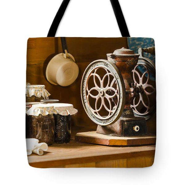 Forgotten Kitchen of Yesteryear Tote Bag by Carolyn Marshall
