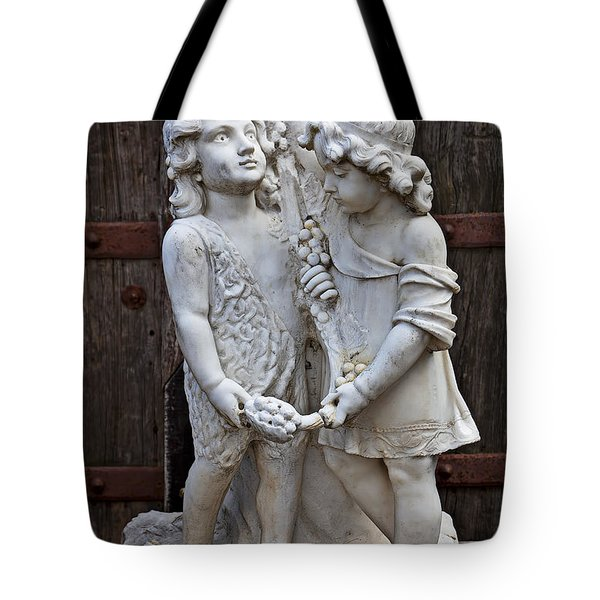 Forgotten Statue Tote Bag by Garry Gay