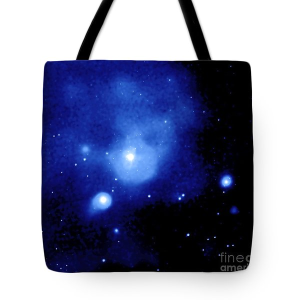 Fornax Galaxy Cluster Tote Bag by NASA / Science Source