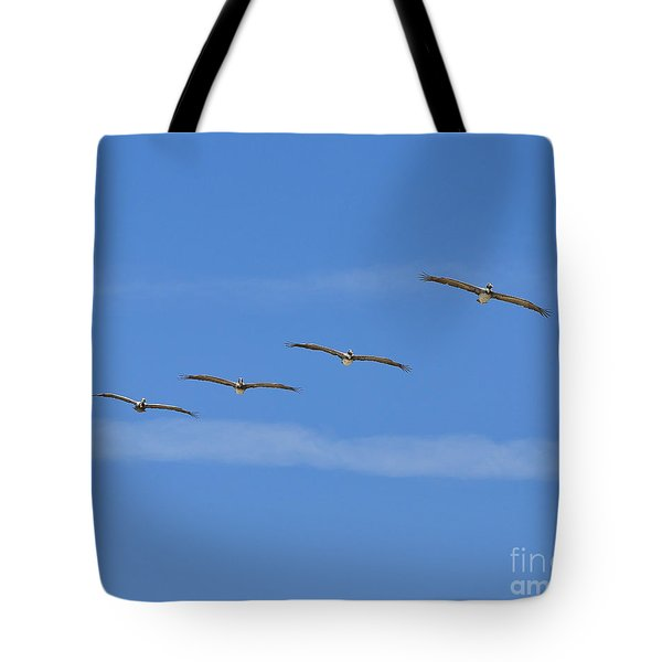 Four Flyers Tote Bag by Al Powell Photography USA