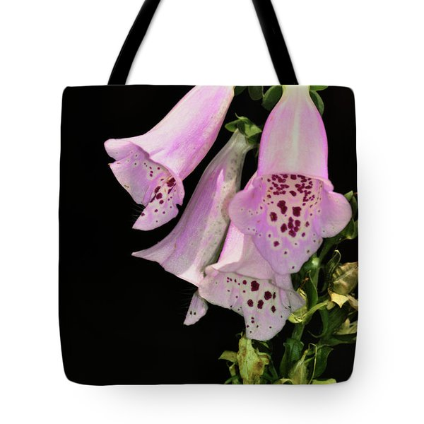 Fox Glove Bells Tote Bag by Bill Cannon