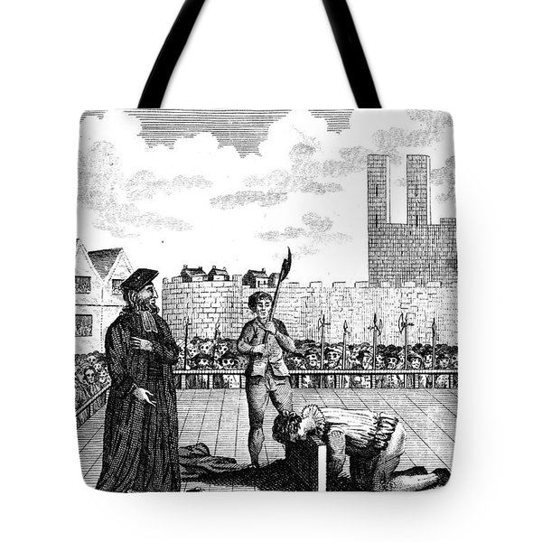 Foxes Book Of Martyrs Tote Bag by Granger