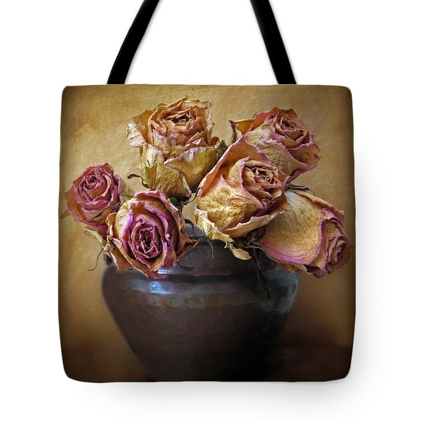 Fragile Rose Tote Bag by Jessica Jenney