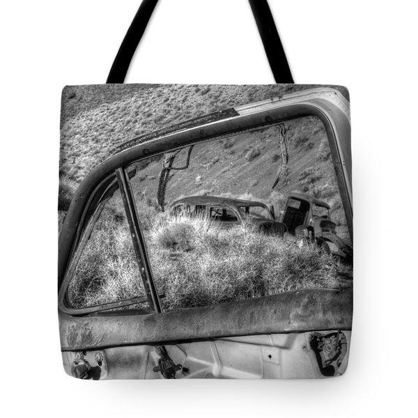 Framed Tote Bag by Bob Christopher