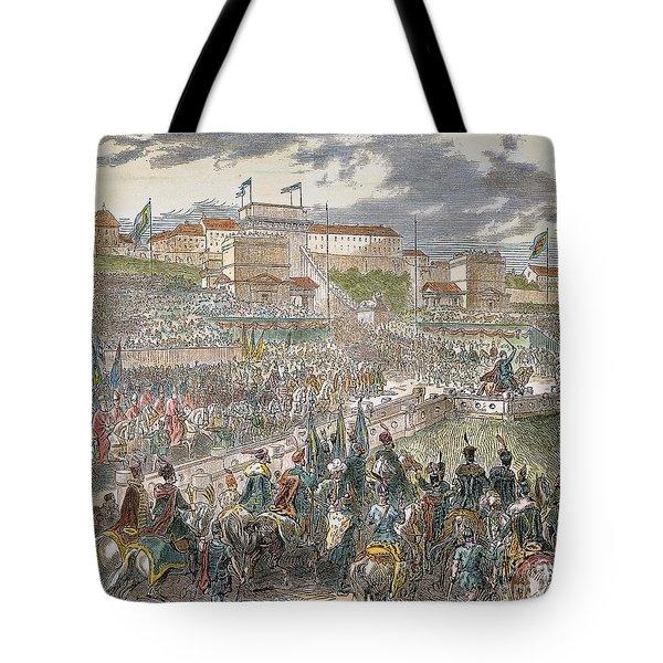Francis Joseph I Of Austria Tote Bag by Granger