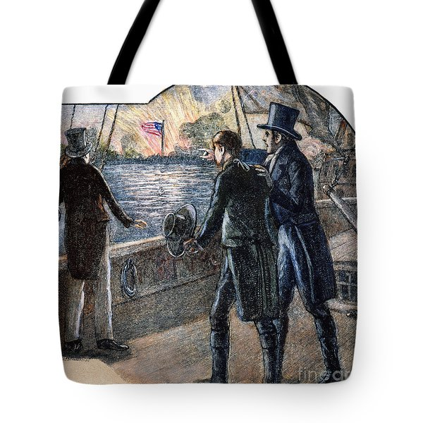 Francis Scott Key, 1814 Tote Bag by Granger