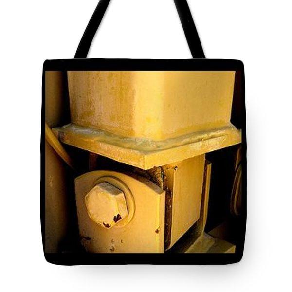 FRANKENSTEIN Tote Bag by Marlene Burns