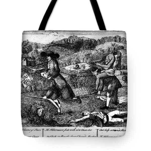 Franklin: Cartoon, 1764 Tote Bag by Granger