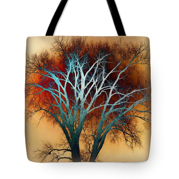 Freaky Tree 1 Tote Bag by Marty Koch