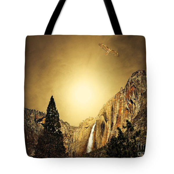Free To Soar The Boundless Sky Tote Bag by Wingsdomain Art and Photography