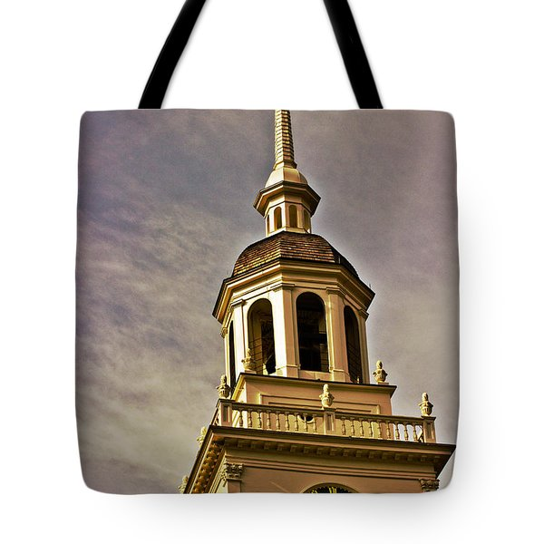 Freedom Rings Tote Bag by Tom Gari Gallery-Three-Photography