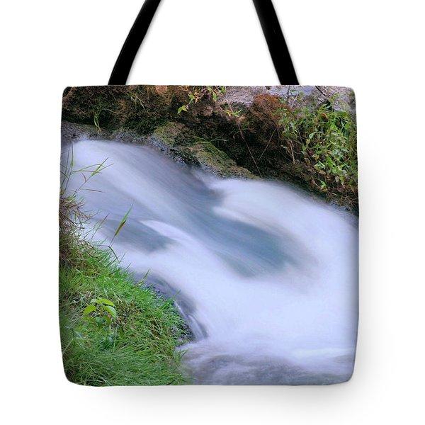 Freely Flowing Tote Bag by Kristin Elmquist