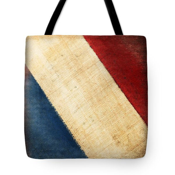 French Flag Tote Bag by Setsiri Silapasuwanchai