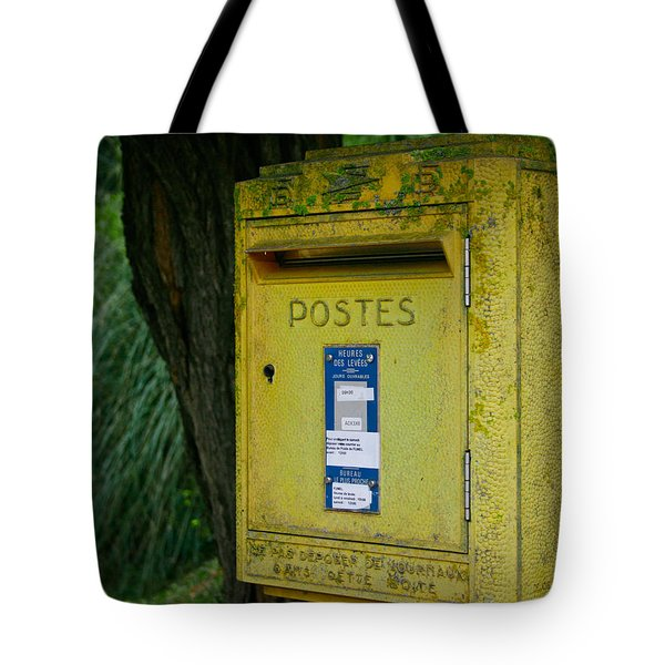 French Mailbox Tote Bag by Nomad Art And  Design