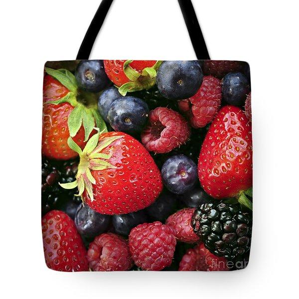 Fresh Berries Tote Bag by Elena Elisseeva