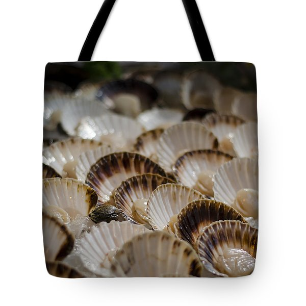 Fresh From The Sea Tote Bag by Heather Applegate