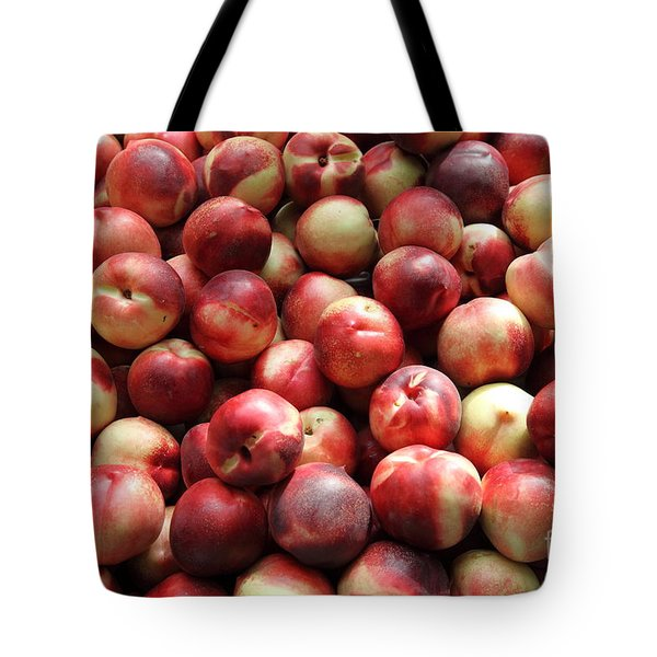 Fresh Nectarines - 5d17813 Tote Bag by Wingsdomain Art and Photography
