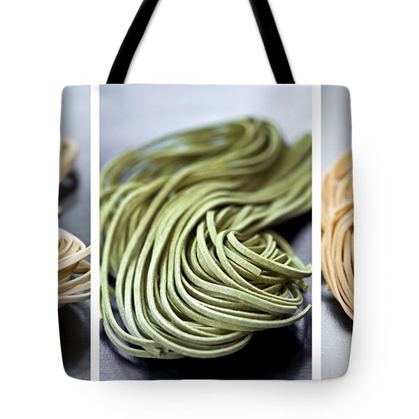 Fresh tagliolini pasta Tote Bag by Elena Elisseeva
