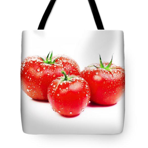 Fresh Tomato Tote Bag by Setsiri Silapasuwanchai