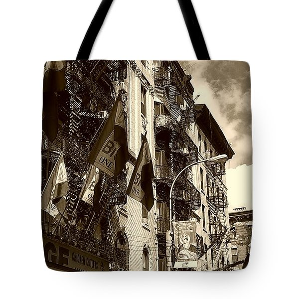 Fried Calamari Anyone Tote Bag by Catie Canetti