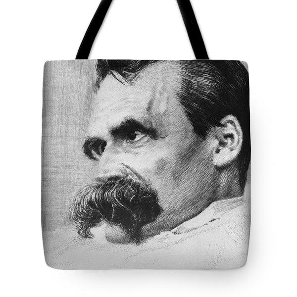 Friedrich Wilhelm Nietzsche, German Tote Bag by Photo Researchers