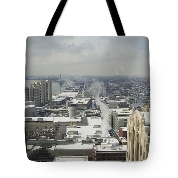 From Atop The Guardian 1758 Tote Bag by Michael Peychich