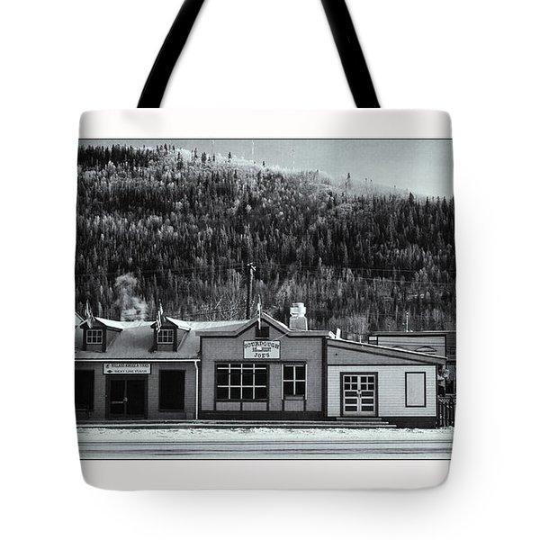 Front Street Tote Bag by Priska Wettstein