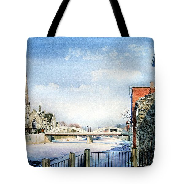 Frozen Shadows On The Grand Tote Bag by Hanne Lore Koehler