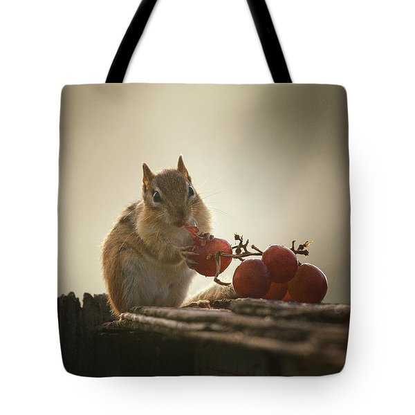 Fruit Of The Vine Tote Bag by Susan Capuano